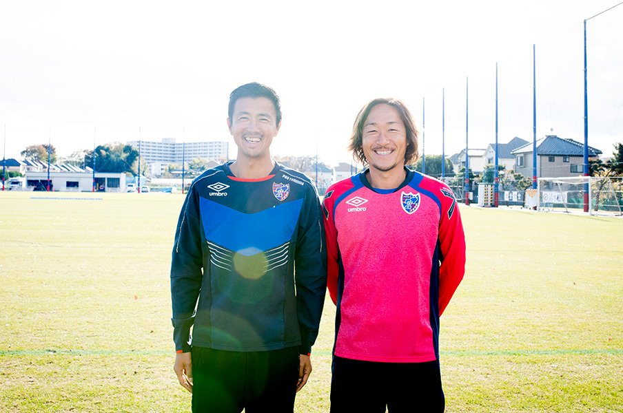 石川直宏と佐藤由紀彦が今語ること。出会い、FC東京愛、そして引退――。<Number Web> photograph by Asami Enomoto