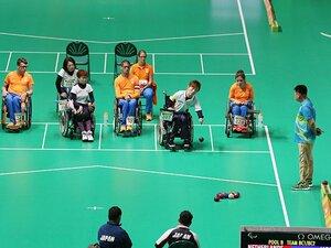 日本が銀獲得、ボッチャという競技。ポイントは究極の創意工夫と戦略性。