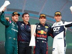 戦力外通告からの栄光…アゼルバイジャンGPで表彰台に上ったペレス、ベッテル、ガスリーそれぞれの、F1人生浪花節