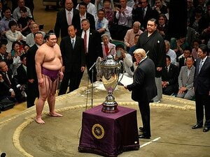 武蔵丸が見た令和初の夏場所。「朝乃山、初優勝は忘れて!」の意味。