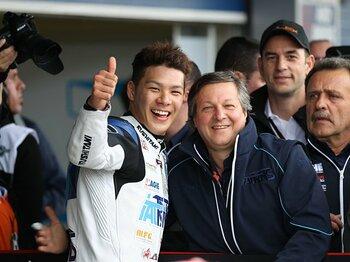 """日本勢最後の砦、中上に求められる""""強さ""""。~激戦モト2、日本GPで表彰台を~<Number Web> photograph by Satoshi Endo"""