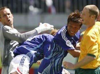 2006年 ドイツW杯 グループF VS....
