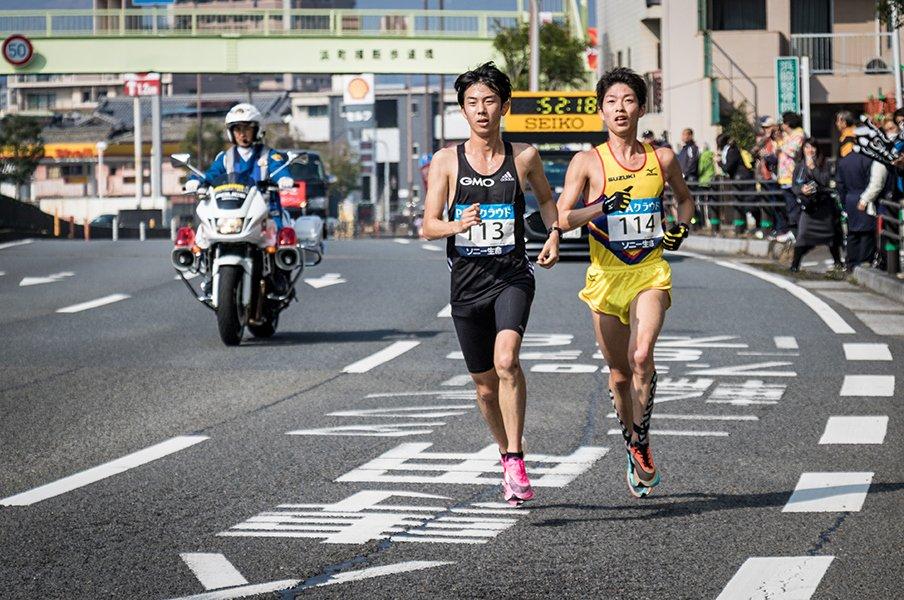 箱根を走った東大院生が追求する「アスリート兼研究者」という生き方。<Number Web> photograph by GMO Athletes