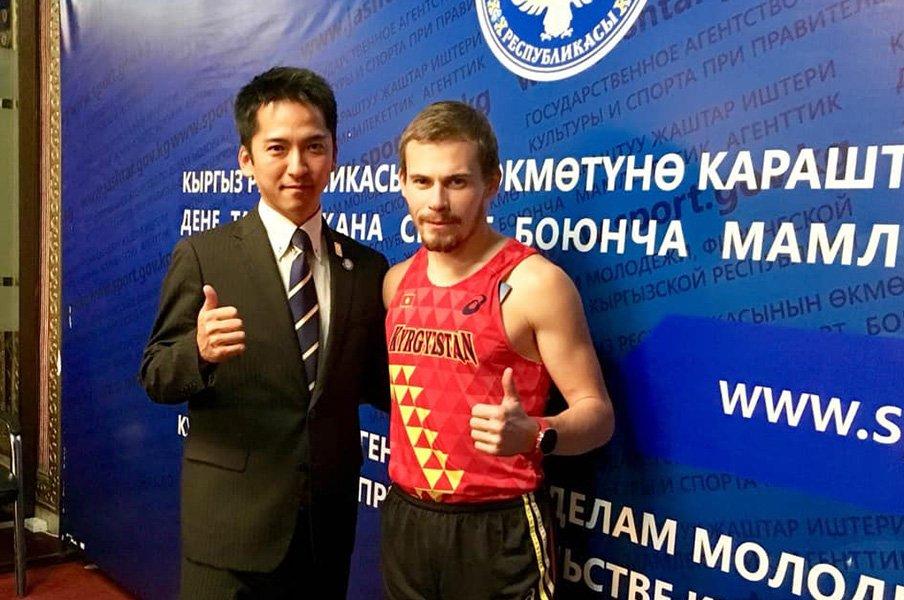 元箱根駅伝選手、指導者としてキルギスへ。教え子の五輪出場を通して伝えたいこと。<Number Web> photograph by JICA