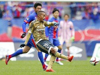 今Jリーグで最も見ておくべき選手!?横浜FM・アデミウソンは超万能FW。<Number Web> photograph by AFLO