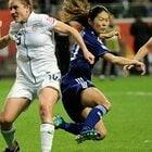サッカー女子W杯2011決勝、澤穂希の同点ゴール