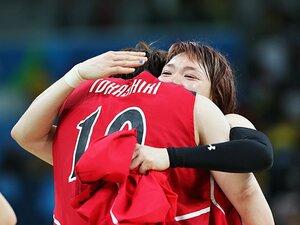 リオでベスト8の渡嘉敷来夢が残した夢。「2人揃えば東京五輪でメダルが取れる」