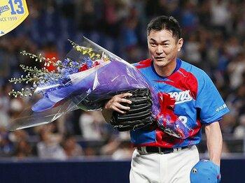 前人未到の1000試合登板。不世出の鉄腕・岩瀬仁紀を生んだ奇跡の数々。<Number Web> photograph by Kyodo News