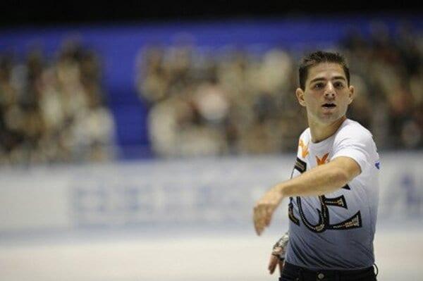 2008フィギュアスケートグランプリシリーズ NHK杯 男子シングルショートプログラム