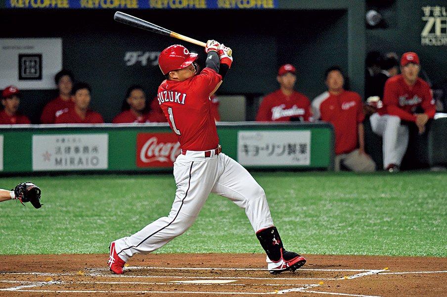 野球が嫌いだった少年時代。鈴木誠也はいつ変わったのか。~「好き」よりも「こうなりたい」~<Number Web> photograph by Hideki Sugiyama