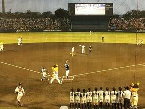 糸井重里がノーバン始球式!!松本・前橋と続く、巨人戦ながれ旅。