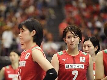 W杯で見えた女子バレーの課題とは?海外勢の練習に大山加奈が注目。<Number Web> photograph by Itaru Chiba