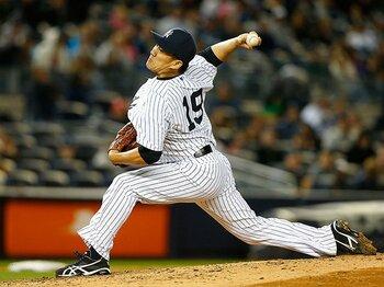 """田中将大、""""宣伝通り""""のスタート。次に掴むべきはNYのファンの心だ。<Number Web> photograph by Getty Images"""