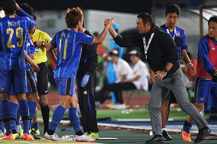ACLで韓国勢を打倒してきたガンバ。超リッチな広州恒大とどう戦う?<Number Web> photograph by Getty Images