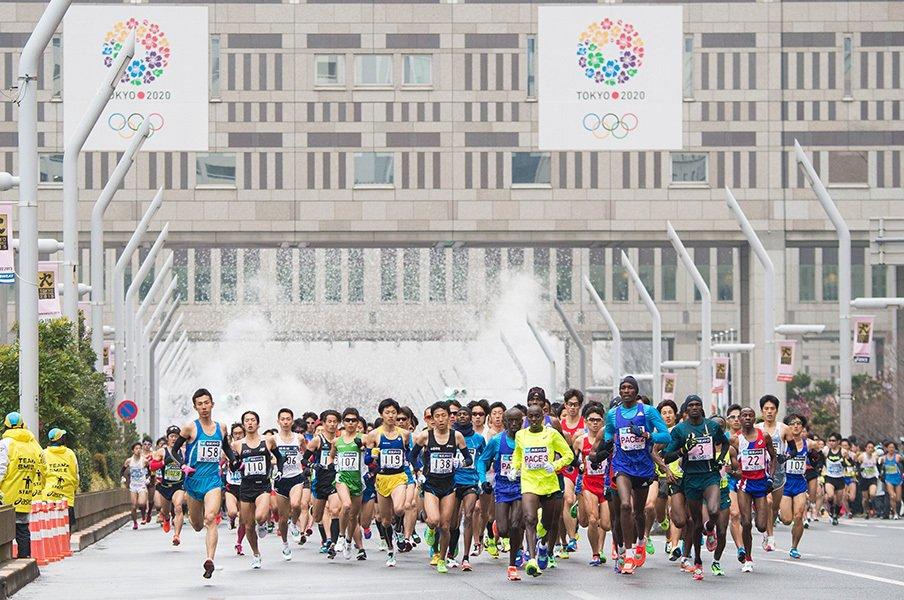都市型フルマラソン増加の陰で――。規模や人気よりも大切な事を考える。<Number Web> photograph by Sports Graphic Number