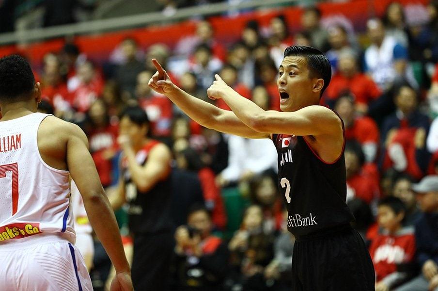 """指示を待ち、自分で判断ができない。バスケW杯予選で露呈した""""日本病""""。<Number Web> photograph by AFLO"""