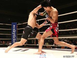 """RIZIN王者・堀口恭司をKO!朝倉海、大番狂わせの""""必然""""。"""