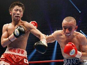 """井上尚弥、6戦目で最速世界獲得!王者が噛ませ犬に見えた""""力の差""""。"""