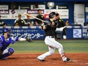 ホークス日本一「陰のMVP」中村晃。長距離砲への変身、本塁打後の涙。