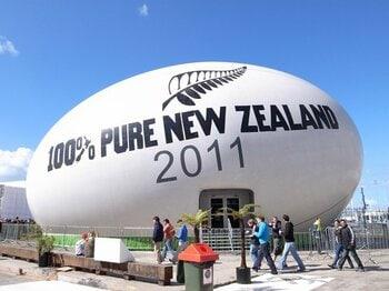 「400万人のスタジアム」 王国NZから学ぶべきこと。~ラグビーW杯日本開催に向けて~<Number Web> photograph by Shinsuke Ida