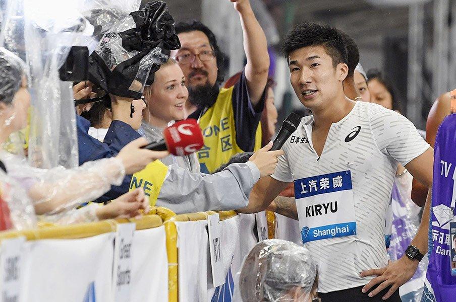 陸上競技エージェントという仕事。ツアー出場、レーン順も彼ら次第!?<Number Web> photograph by Kyodo News