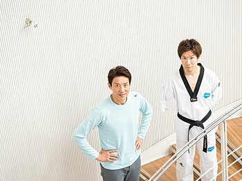 「東京2020後はパラクライミングに!」と語る伊藤力に松岡修造がエール。<Number Web> photograph by Nanae Suzuki