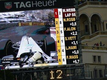 モナコGPで目撃した驚異の頭脳戦。超スローペースで勝利したウェバー。<Number Web> photograph by Hiroshi Kaneko