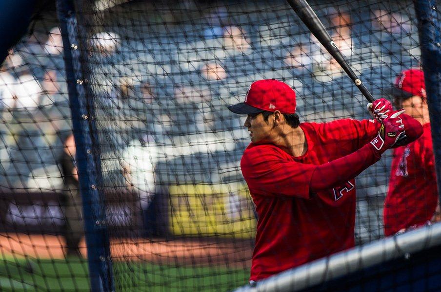 打者・大谷翔平の復帰を急いだ理由。エンゼルス打線で際立つ勝負強さ。<Number Web> photograph by Getty Images
