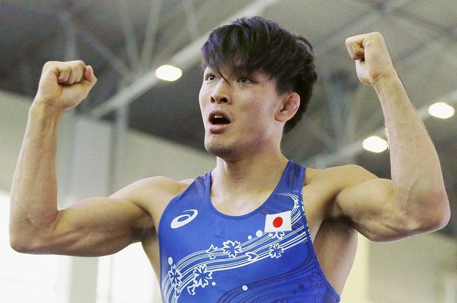 男子レスリングの五輪出場枠が半減!ロンドンからの4年で何が起こったか。<Number Web> photograph by Kyodo News