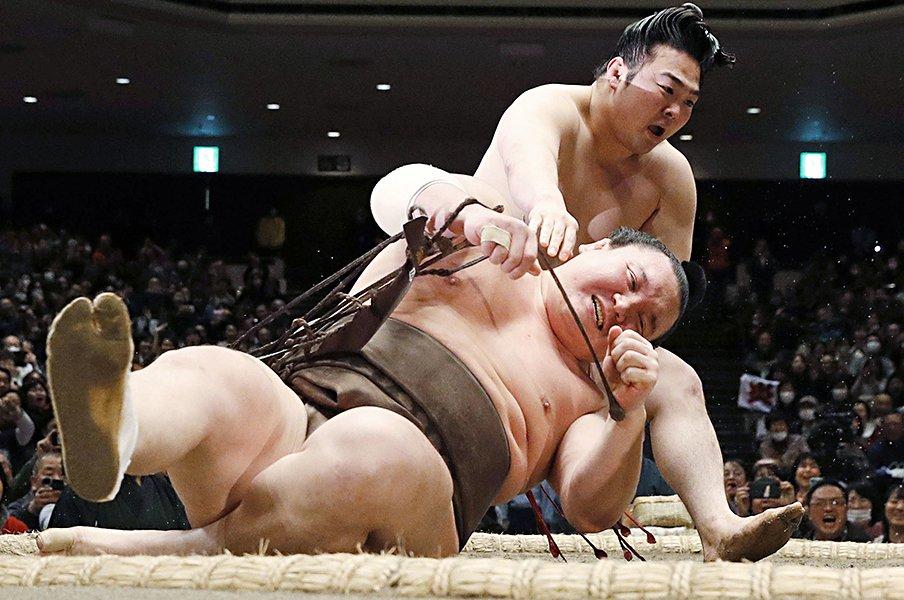大相撲春場所、無観客開催の影響は。注目の炎鵬、大栄翔らの声を伝える ...