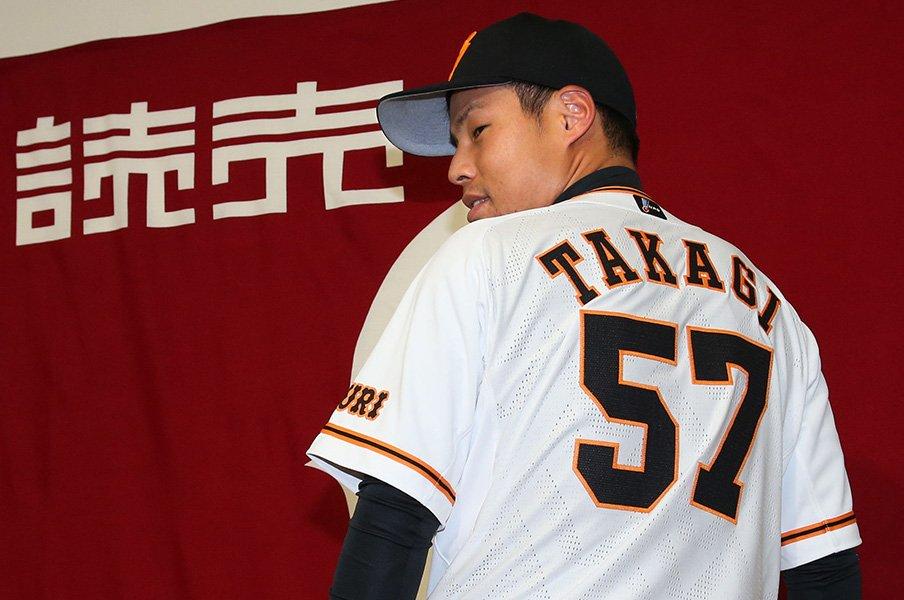 高木京介は結果以外でも問われる。巨人支配下復帰と松井秀喜の想い。<Number Web> photograph by Kyodo News