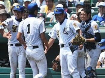 福島代表が初めて大阪代表に勝利!聖光学院が完勝で一躍優勝候補に。<Number Web> photograph by Hideki Sugiyama