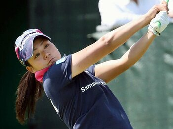 今季もニューヒロイン候補が花盛り!女子ゴルフ、開幕戦から見えた傾向。<Number Web> photograph by Kyodo News