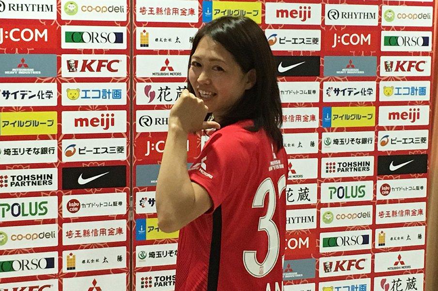 安藤梢、7年半の経験を古巣浦和に。ドイツと日本の「良い選手」の違い。<Number Web> photograph by Tetsuro Kutsuwada