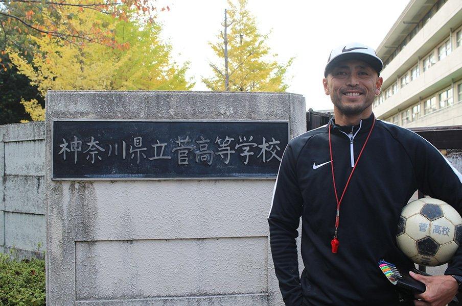 """""""川崎山脈""""から日本代表、高校教師へ。代表1キャップ、箕輪義信の人生。<Number Web> photograph by """"Eijinho""""Yoshizaki"""