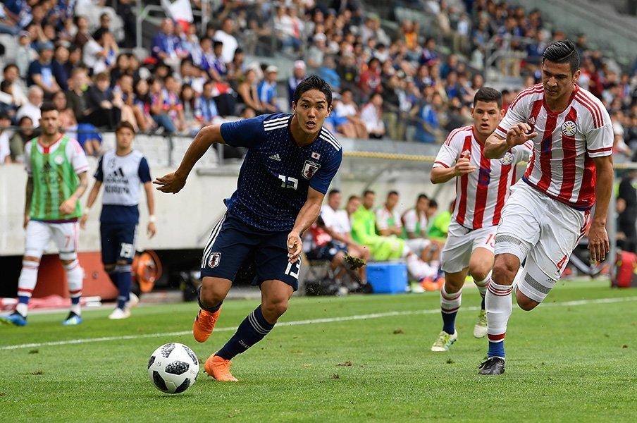 「大舞台で決める力がある」と自負。武藤嘉紀は最前線でこそ輝くのでは。<Number Web> photograph by Getty Images