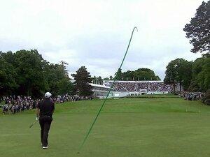 ゴルフボールの軌道を色付けした男。「米のプロゴルフ成功の理由は……」