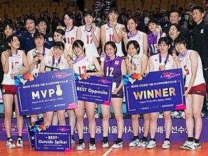 100年に1人の逸材擁する韓国も撃破!育成実る女子バレーの未来は明るい。