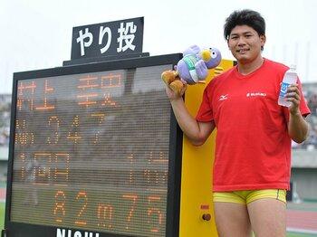 日本選手権やり投げ12連覇の31歳。世界を目指し成長を続ける村上幸史。<Number Web> photograph by Tsutomu Kishimoto