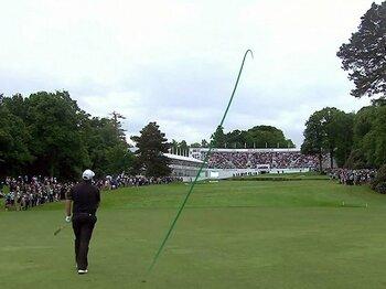ゴルフボールの軌道を色付けした男。「米のプロゴルフ成功の理由は……」<Number Web> photograph by ShotVision