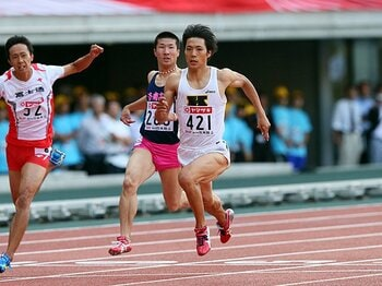100mの山縣vs.桐生だけじゃない!充実の日本陸上陣、飛躍の夏へ。 <Number Web> photograph by YUTAKA/AFLO SPORT