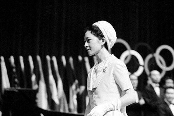 1962年オリンピックデー記念行事 美智子妃