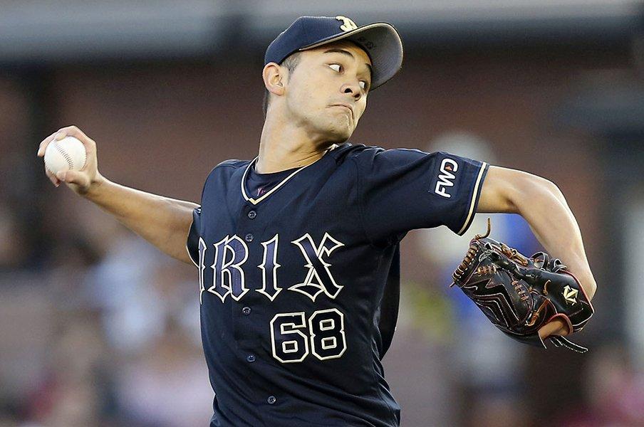 """23歳右腕が""""冬の武者修行""""で変化。オリックス鈴木優が得たヒントとは。<Number Web> photograph by Kyodo News"""