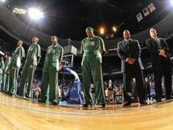 """来季の捲土重来を期すセルティックスの矜持。~NBAを面白くする""""口撃""""~<Number Web> photograph by NBAE/Getty Images"""