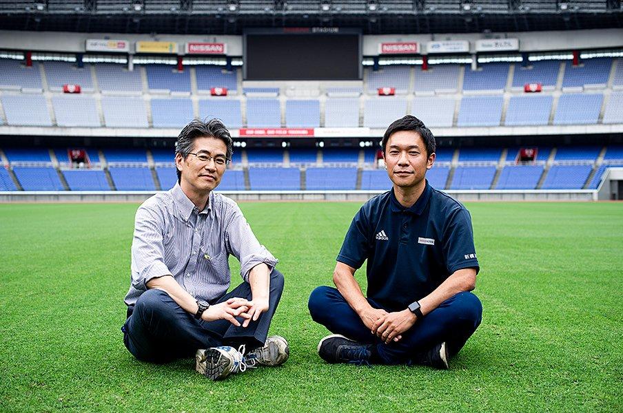 「最高峰のラグビー」のための決断。決勝の地、日産スタジアムの芝管理。<Number Web> photograph by Yuki Suenaga