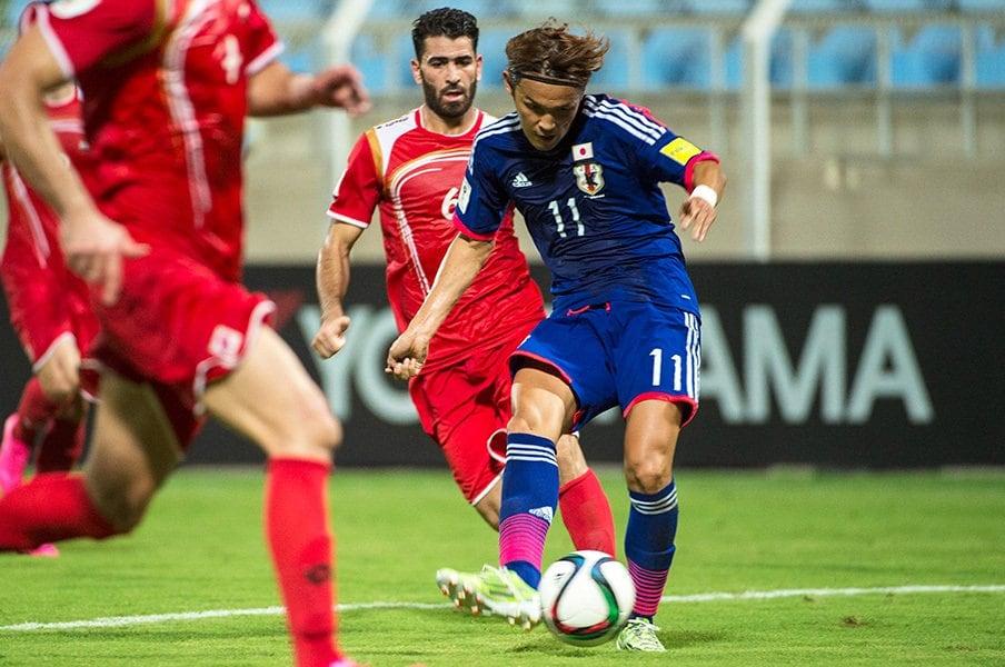 試合前のメディアの心配もどこへやら。ハリルJがシリア戦で見せた「柔軟性」。<Number Web> photograph by Takuya Sugiyama