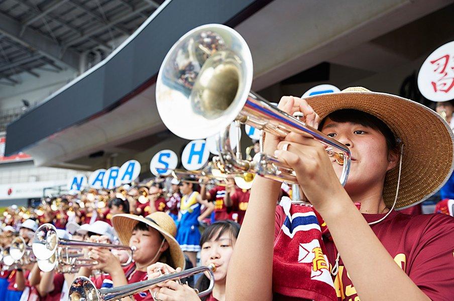 ブラバンの名門取材で見えてきた、高校野球応援に傾ける愛情と熱量。<Number Web> photograph by Yoichi Nagano