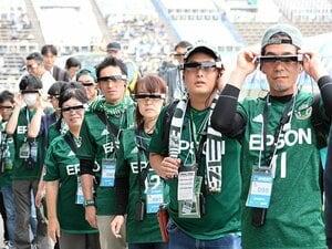 """サッカー観戦とARは相性が良すぎ。松本山雅のスタジアム""""拡張""""計画。"""