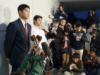 大谷翔平は次世代の野茂になれるか。高卒即MLB行きで日本球界が変わる!?<Number Web> photograph by Kyodo News