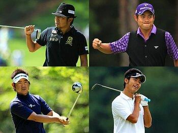 <男子ゴルフ界の勢力図> 「遼世代」の台頭は、何をもたらしたか。<Number Web> photograph by Taku Miyamoto